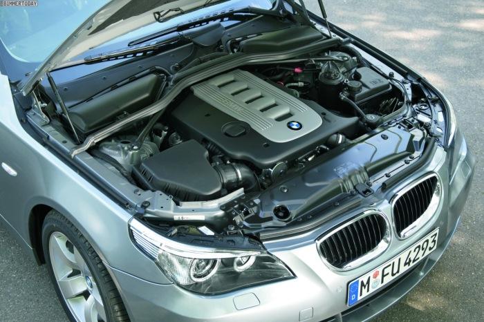Этот BMW 535d оснащен супернадежным 6-цилиндровым дизелем с крутящим моментом 560 Н∙м.   Фото: bimmertoday.de.