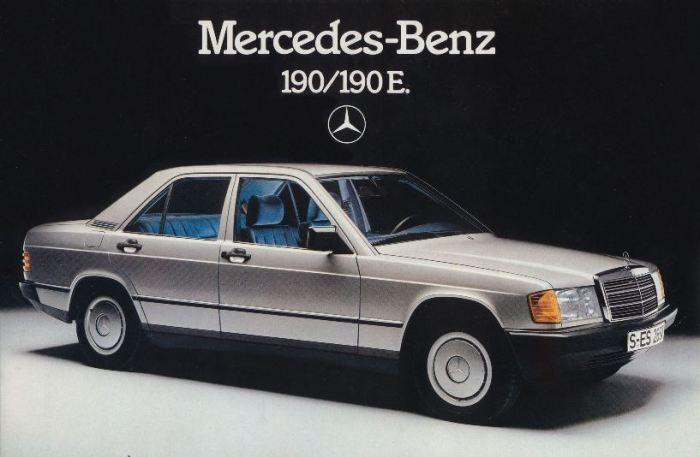 Модель 190 (W201) - самый маленький Mercedes-Benz 1980-х годов.   Фото: topruscar.ru.