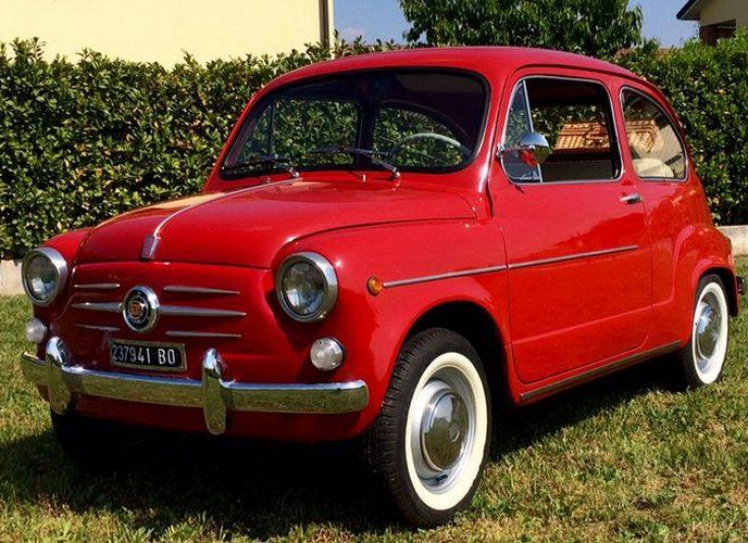 Fiat 600 - именно он стал прототипом ЗАЗ 965.