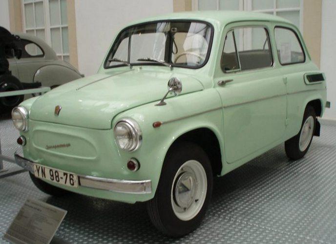 Легендарный горбатый ЗАЗ 965.