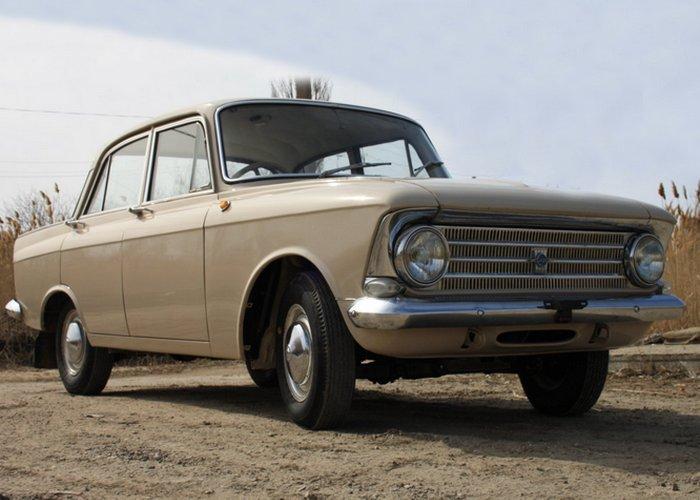 Москвич-412 - один из самых популярных массовых советских автомобилей.