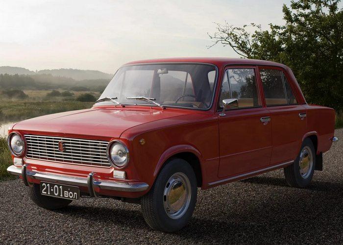 Автомобиль ВАЗ 2101 - легендарная советская «копейка».