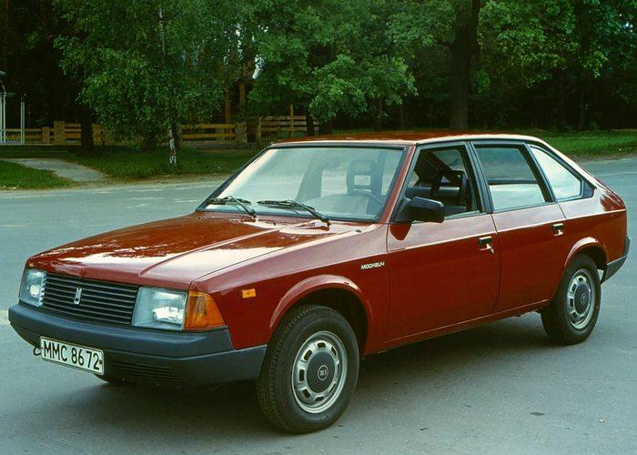 Москвич 2141 - одна из последних советских моделей.