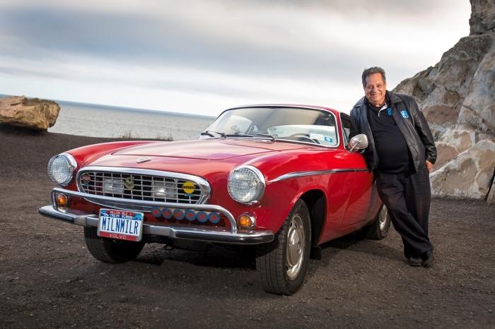 Один из самых громких рекордов поставлен на Volvo P1800.