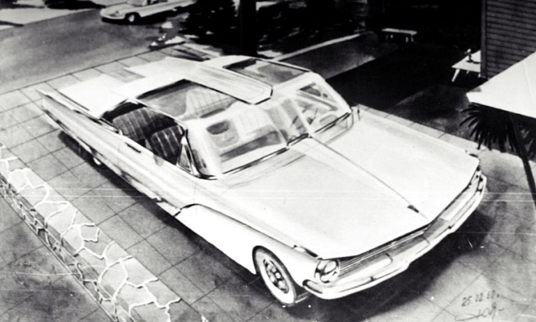 Космічний ЗАЗ: як представляли майбутні моделі вітчизняного автопрому в кінці 50-х, – ескізи