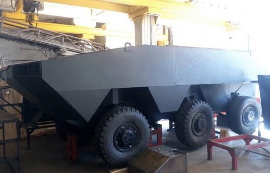 Представлен проект нового украинского БТР для морской пехоты (ФОТО)