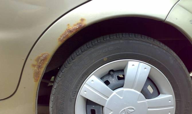 3 способи врятувати кузов авто, який тільки почав іржавіти