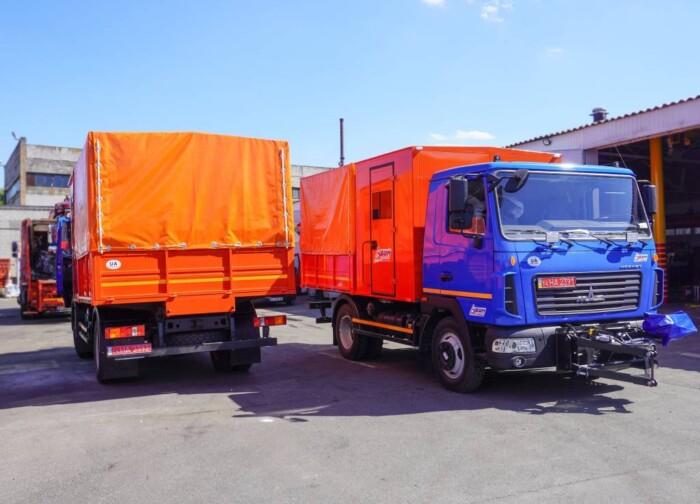 В Україну прибула партія спеціальних моделей МАЗ