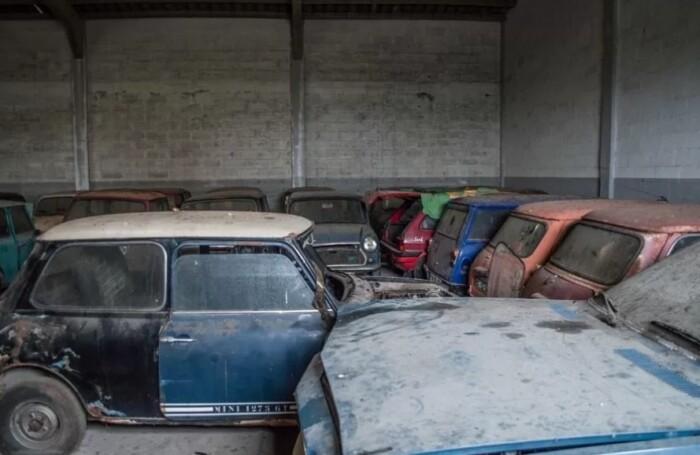 В Евросоюзе нашли десятки брошенных автомобилей Mini 2