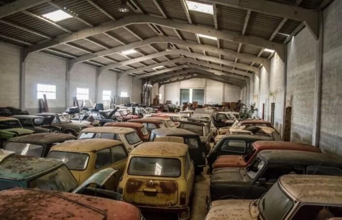 В Евросоюзе нашли десятки брошенных автомобилей Mini 1