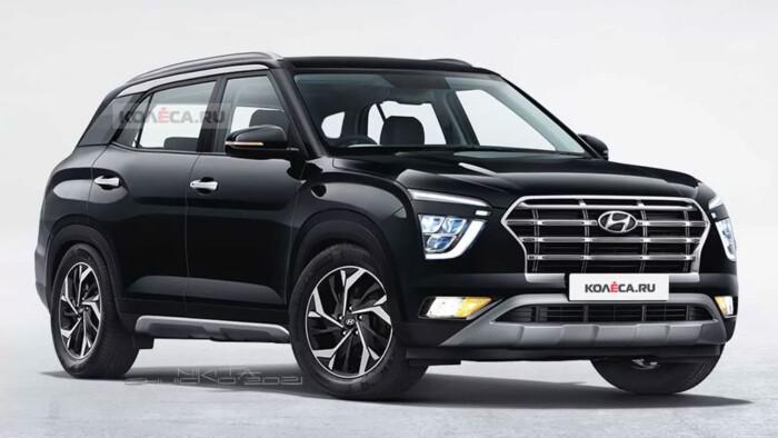 Компания Hyundai представила изображения семиместного кроссовера Creta (ФОТО)