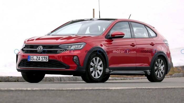 Бюджетный кроссовер от Volkswagen почти полностью рассекретили, не дожидаясь премьеры (ФОТО)